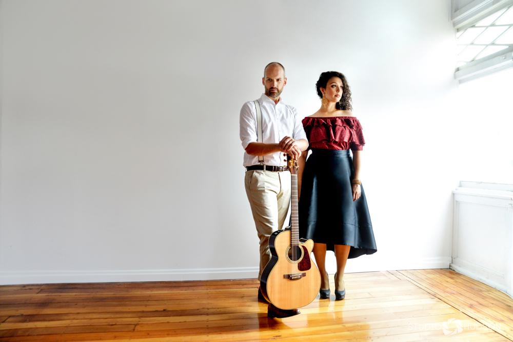 Musician Duet Portriat