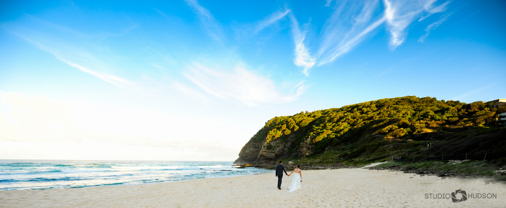 Bride and Groom Boomerang Beach