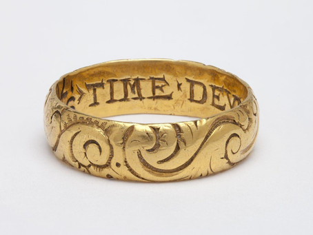 With this ring, I thee wed: Antique Wedding and Engagement Rings