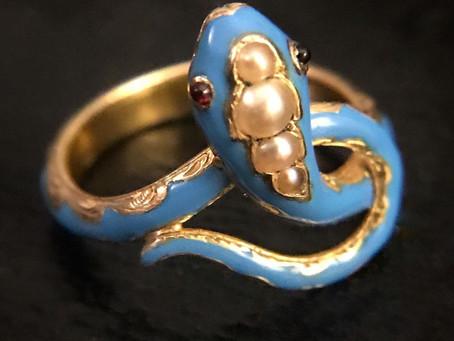 The Art of Enamel in Antique Jewelry