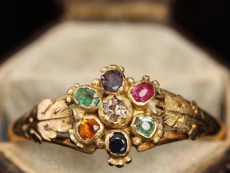 Acrostic Jewelry: The Language of Stones