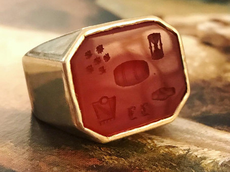 Antique Rebus Jewelry: Puzzling Personal Pieces