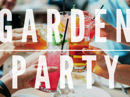 It's Garden Party time again!