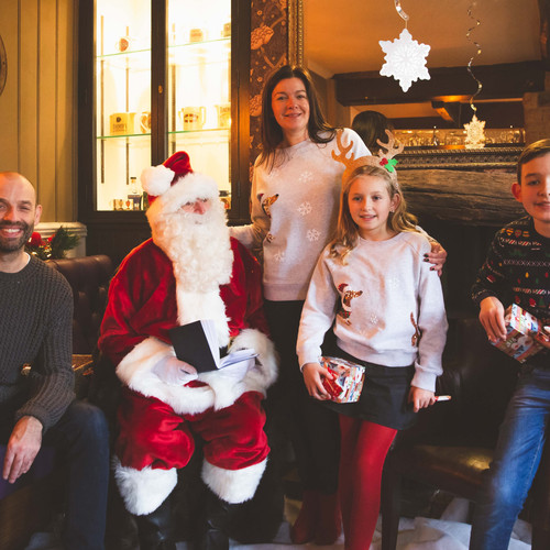 The Blue Stoops Breakfast with Santa