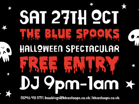 Are you ready for The Blue Spooks' Halloween Spectacular?
