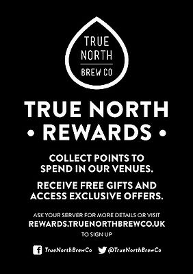 True North Brew Rewards Card