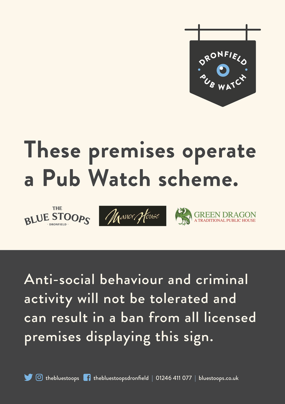 Dronfield Pub Watch