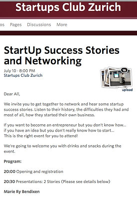The Bookwrap in Startup Club