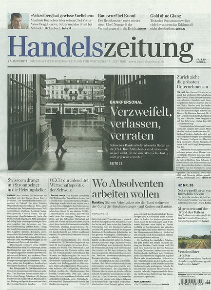 The Bookwrap in Handelszeitung