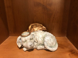 Angel Dog Urn