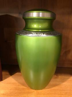 Lime Green Urn