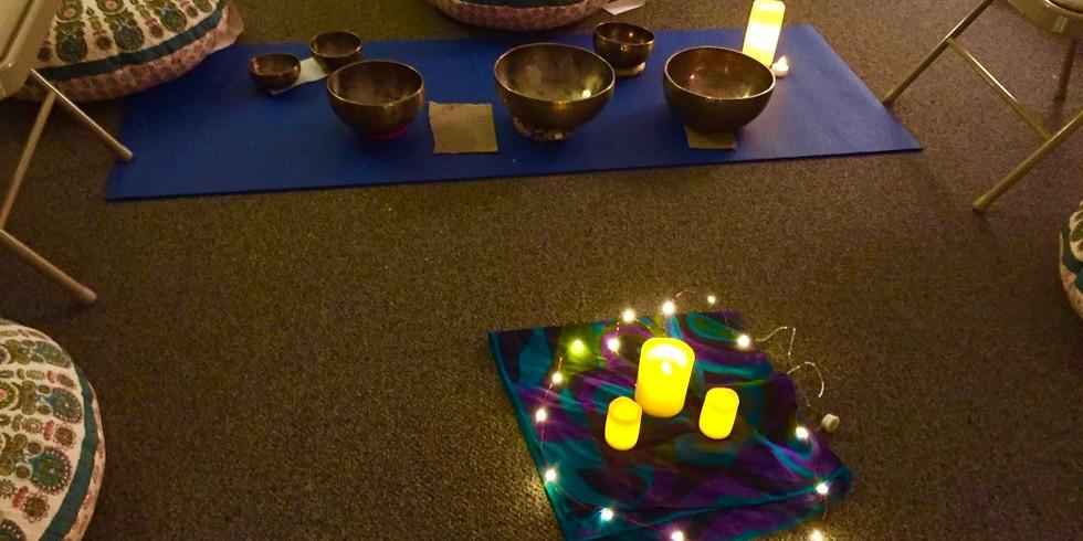 Meditation Circle with Reiki and Singing Bowls
