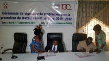 PPTD 2019-2022, les partenaires sociaux signent le protocole d'accord à Lomé