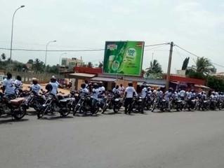 Les Conducteurs de taxi-moto deux roues, tricycles et leurs passagers désormais assurés