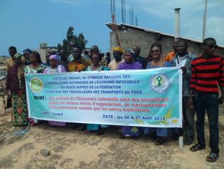 Coopération syndicale Sud-Sud/ La SYNATRA du Niger en visite de travail auprès de la FESYTRAT du Tog