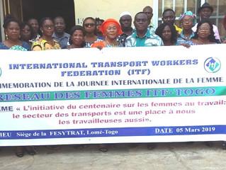 8 mars 2019, le Réseau des femmes ITF-Togo a marqué la journée par une conférence-débat