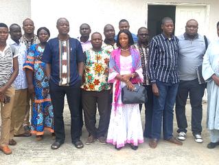 Collecte de données Flux transfrontaliers : Les acteurs formés sur l'utilisation de la plateforme él