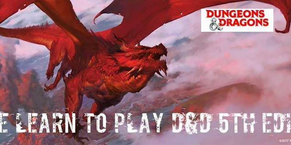 Intro to Dungeons & Dragons (beginners)