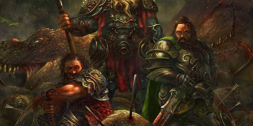 """Dungeons & Dragons One-Shot - """"Day of the Dwarf"""""""
