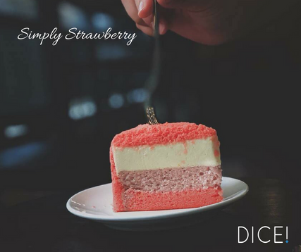 Simply Strawberry Cake