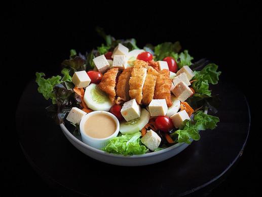 Chicken Tofu Salad