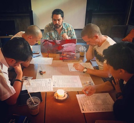 Dungeons & Dragons at Dice! Cafe