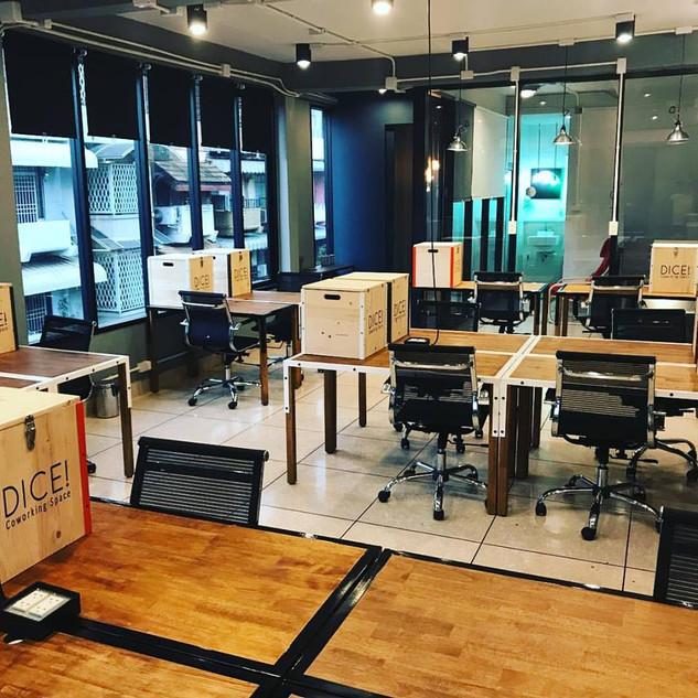 Dice Coworking Space in Bangkok