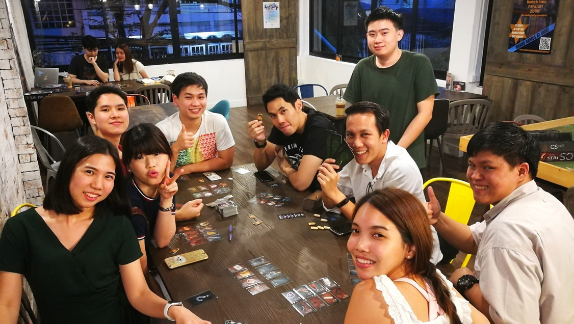 Board Games at Dice! Cafe