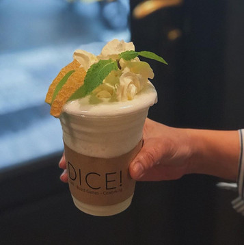 Drink and enjoy at Dice!