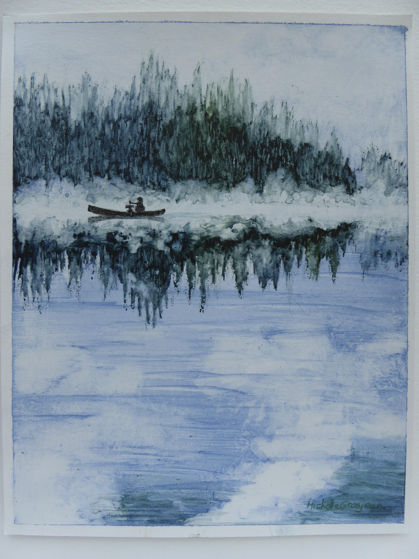 Misty Canoe Ride