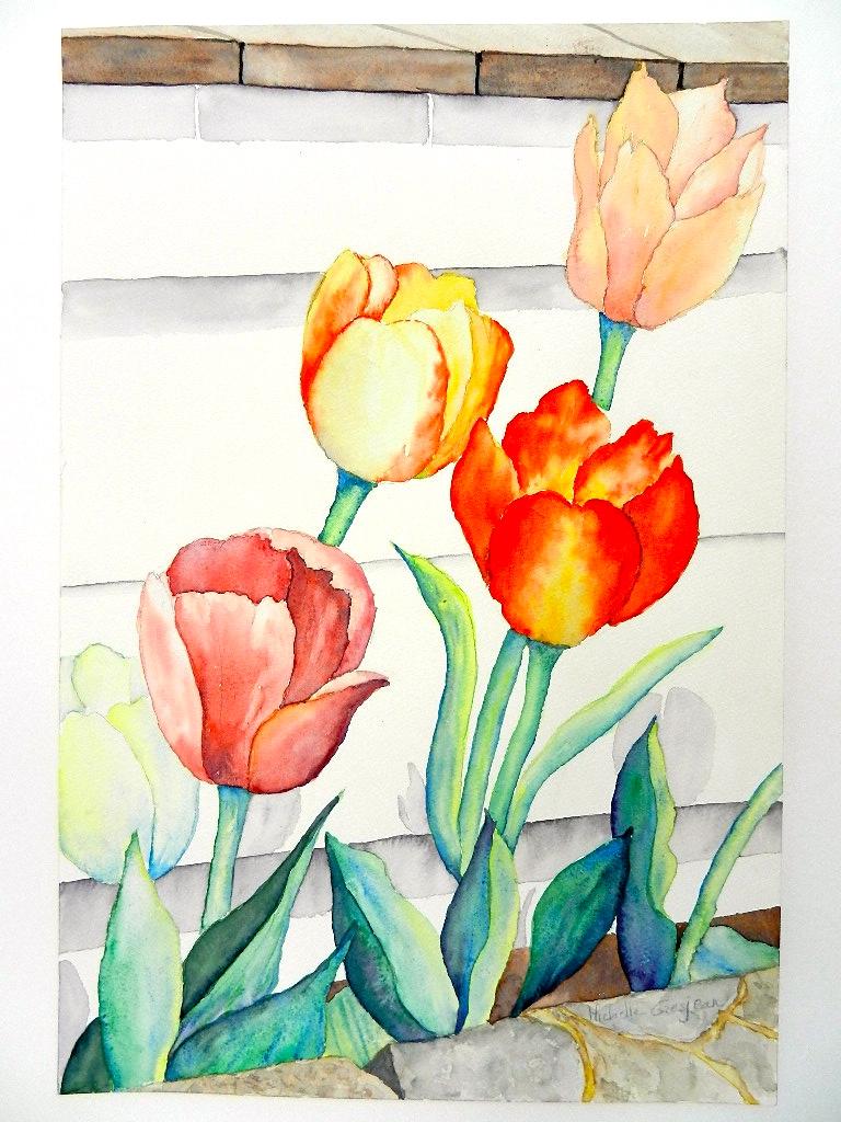 2012 Dancing tulips