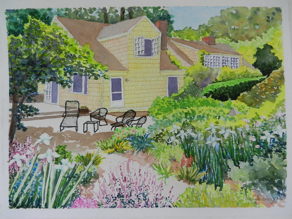 Foulkes House (watercolor) - NFS