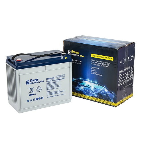 EXP+ 150 AGM battery