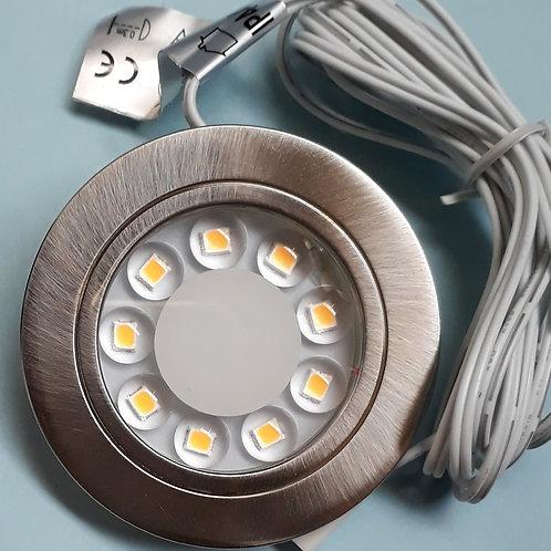 Flush mount disc light