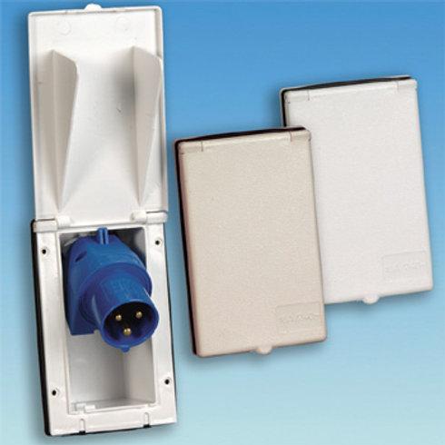 Flush AC inlet