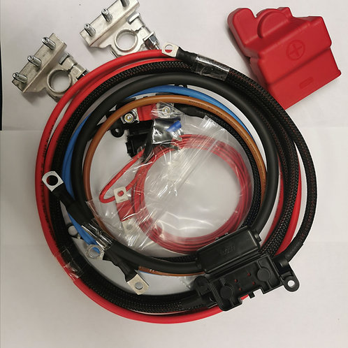 Wiring kit for CTEK Dual 250. (all variants), Renogy 20 amp and Victron Orion 18