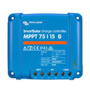 Victron SmartSolar 75/15 MPPT solar controller.