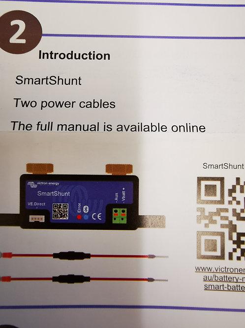 Victron Smart Shunt 500ma