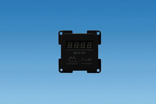 C Line battery meter.