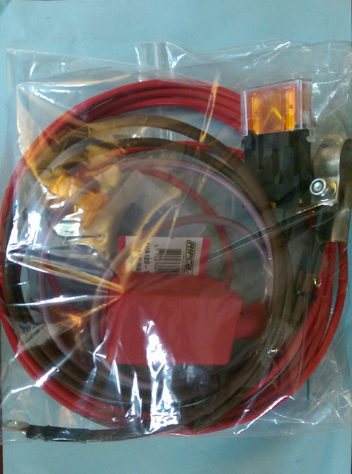 complete wiring kit for fitting a redarc 1240 dc-dc charger