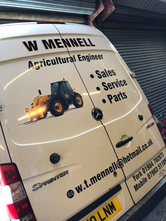 Van stickers from single to multiple units