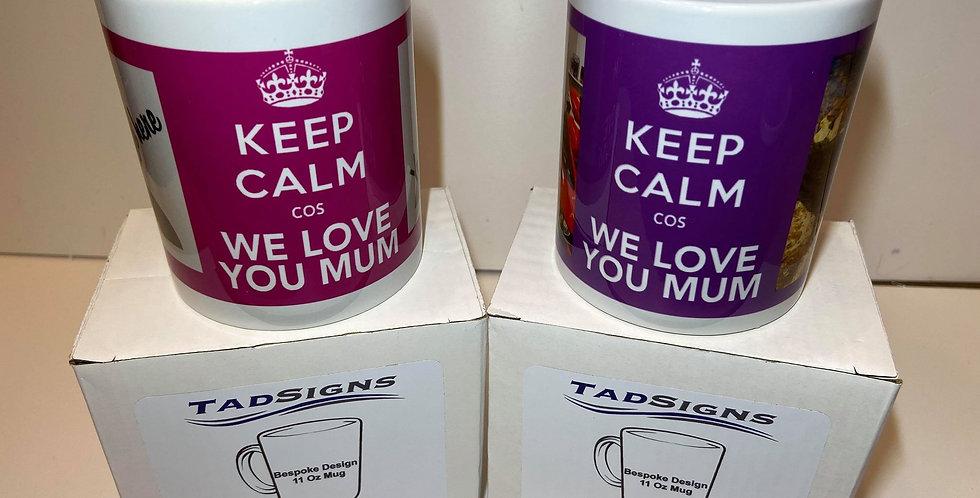 Personalised 11oz Tea/Coffee Mug with gift box