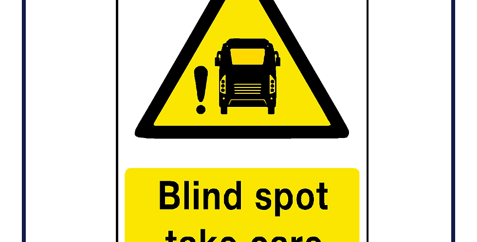 DVS compliant - Bus Coach blind spot warning
