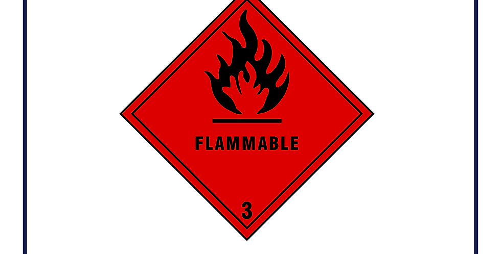 Dangerous substances - flammable
