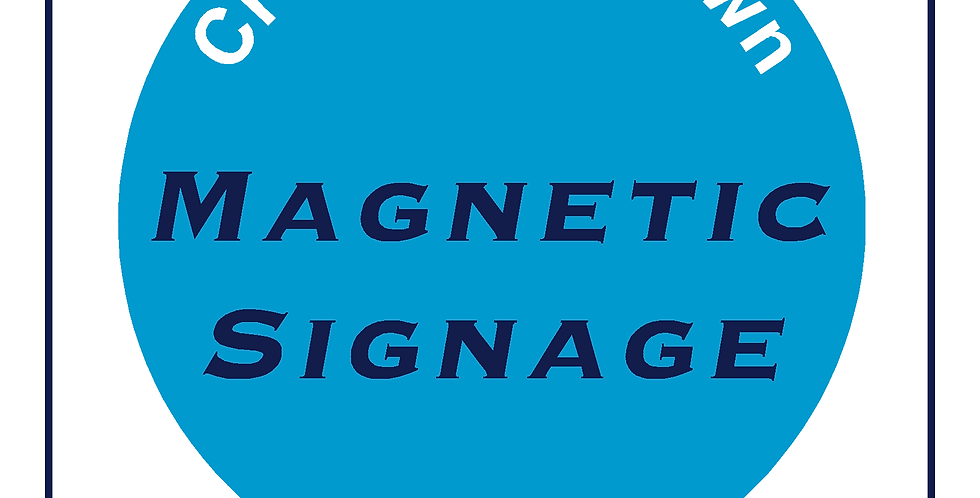 Create your own sign - Magnetic