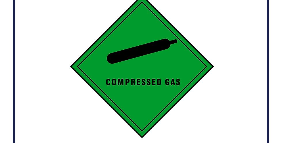 Dangerous substances -compressed gas