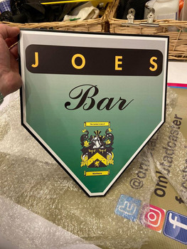 New Family Bar Signs for Christmas