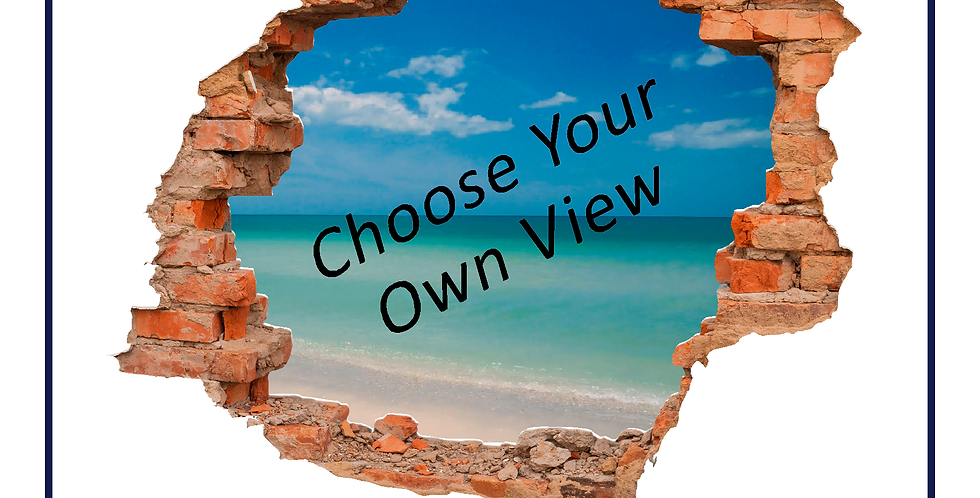 Wall Smash Graphic View - Choose your own image!