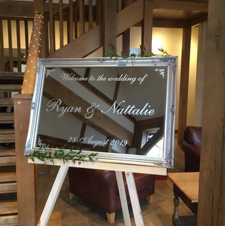 Bespoke Wedding Signs