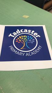 School logo printing